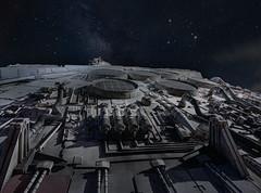 YT-1300 (jn3va) Tags: millenniumfalcon smugglersrun galaxysedge disney yt1300 milkyway star wars