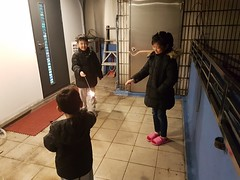 2020.1.28 放煙火 (amydon531) Tags: baby boys kids brothers justin jarvis family cute 春節 過年 chinese new year fireworks