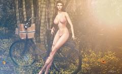 ᵀʰᵉ ʷᵒʳˡᵈ ⁱˢ ʸᵒᵘʳˢ ᵗᵒ ᵉˣᵖˡᵒʳᵉ...... (scarlettrose.karsin) Tags: poses luanesworld sl secondlife treschic event shopping blog blogging blogger bike elysion nature bikini legacy genusproject doux pose props