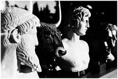Of Gods and Men (Armando Alvarez) Tags: greece grecia atenas athens blackandwhite blancoynegro bw sculpture escultura mythology greekmythology travel viaje