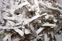 IMG_0959_p (thebiblioholic) Tags: 366 shredding paper crosscut
