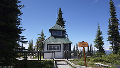 Old Firetower Lookout, Mt Revelstoke National Park, British Columbia (World of Travolution) Tags: nature outdoor camping hiking wildlife historical building view valley mountain alpine panorama peak summit holiday trees travel