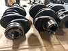 "30pk or 36hp (USA) crankshaft versus Porsche 356 crankshaft • <a style=""font-size:0.8em;"" href=""http://www.flickr.com/photos/33170035@N02/49551022848/"" target=""_blank"">View on Flickr</a>"