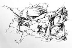 Pearl necklace #sketch #sketchbook #illustration #penandink #ink #progressive #scribbleart #art #graphicart #abstractart #nonsense (webloreArt) Tags: sketch sketchbook illustration penandink ink progressive scribbleart art graphicart abstractart nonsense