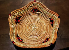 Woven basket from Mexico (~Patti~) Tags: wovenisthetopicformonday17thfebruary2020 odc basket woven mexico colorful