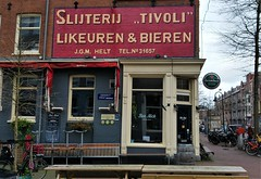 Likeuren & Bieren (Peter ( phonepics only) Eijkman) Tags: amsterdam city advertise advertising reclame reflectionsofthepast vintage nederland netherlands nederlandse noordholland holland