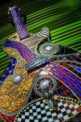 Stained Class (Sam Trigilio) Tags: guitar stainedglass 52in2020challenge 52week2020