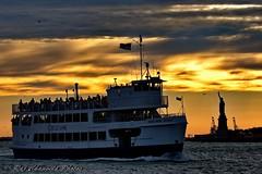 NY Harbor Statue Of Liberty (Cathay 787) Tags: new york harbor miss jersey liberty statue circleline