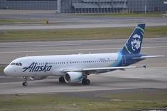 N853VA (LAXSPOTTER97) Tags: alaska airlines airbus a320 a320200 n853va cn 5034 aviation airport airplane kpdx