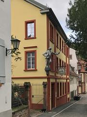 IMG_1206 (Andy961) Tags: deutschland germany heidelberg knight spear sign signage restaurant restaurants brauerei brewery brewpub pub