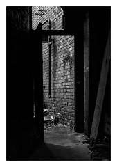 FILM - Doorway (fishyfish_arcade) Tags: 35mm analogphotography bw blackwhite blackandwhite filmphotography filmisnotdead hp5 istillshootfilm monochrome nikkor50mmf18afd nikonf80 analogcamera film ilford mono sheffield kelhamisland
