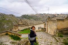 Matera (jmarnaud) Tags: italy 2019 winter family puglia matera unesco héritage people city walk street old house akiko