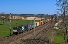 193 606 (maurizio messa) Tags: br193 x4e mrce wlc vectron siemens mau bahn ferrovia cargo intermodale freighttrain fret guterzuge österreich oberösterreich austria treni trains railway railroad nikond7100