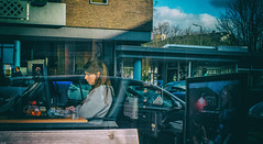WindowReflections (Peter M. Meijer) Tags: rotterdam holland street strada strasse callejera straat people ricohgriii sonya7iii hoogstraat