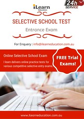 Selective School Test (ilearneduaus) Tags: selective school test exam sample entrance entry trial