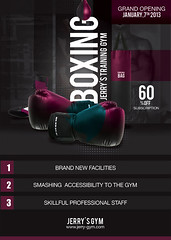 Flyer Boxing Training Gym (n2n44.studio) Tags: a4 bag sport gym boxing flyer event coach trainer glove glows district knock knockout too ko light modern opening punch shoe training sparingpartner print poster
