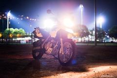 One of my bikes. (BMTTStudio) Tags: bmw bmwmotorrad bikes motorcycles bokeh bokehphotography enduro backlit backlight flare flaring motorbike nightscape night nightphotography highlights switzerland nightride riding outside