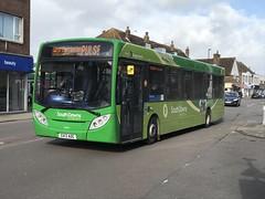 (SRDemus) Tags: sussex 300 alexander dennis stagecoach lancing enviro thepulse bus durrington gx13aog 27844