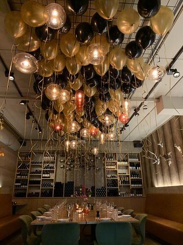 Heliumballonnen Ballonnenplafond Gym & Gin Rotterdam