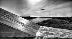 Desembocadura Rio Llobregat 2141-D800-102-02 (mjreyes07) Tags: rio riu agua blancoynegro monocromo paisaje landscape baixllobregat elpratdellobregat riollobregat riullobregat