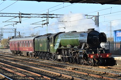 LNER 60103 'Flying Scotsman' @ Rugeley Trent Valley railway station (ianjpoole) Tags: london north eastern railway class a3 pacific 60103 flying scotsman working 5z78 east lancs mid hants