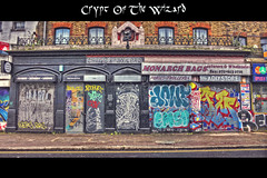 Crypt Of The Wizard (nigdawphotography) Tags: graffiti shops street hackneyroad london