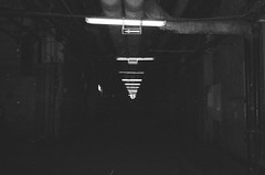 (nnrthbn) Tags: film 35mm black white photography bnw model style ilford pan 400 hp5 kodak
