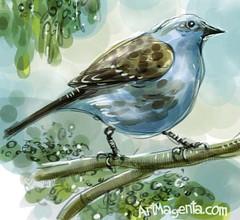 Dunnock (Z0459) #bird #birding #your_best_birds #birdlovers #animallovers #artistoninstagram #birdphotography #artist #birdsofinstagram #art_spotlight #fåglar #nature #illustrationartist #bns_birds #birdpainting #nuts_about_birds #poster #draw #procreate (ArtMagenta) Tags: birds birding birdwatching birdpainting