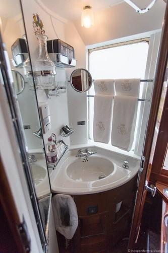 Venice Simplon-Orient-Express twin wash basin