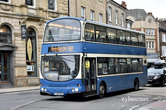 First York 37732, YJ09OCD. (EYBusman) Tags: first west yorkshire rider york city district low ousegate centre bradford corporation traditional livery wright eclipse gemini volvo b9tl 37732 yj09ocd eybusman