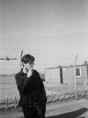 leo salvini (nnrthbn) Tags: film 35mm boy male black white photography bnw model style ilford pan 400 hp5 kodak