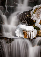 Cold Falls (Dave Hoefler) Tags: wisconsin montello longexposure winter ice nature vertical waterfall water nopeople canonef100400mmf4556lisusm canoneos5dmarkiv