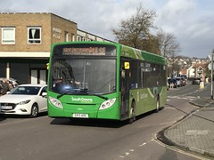 (SRDemus) Tags: sussex southdowns stagecoach bus 300 dennisenviro alexander 9 thepulse lancing gx13aog 27844