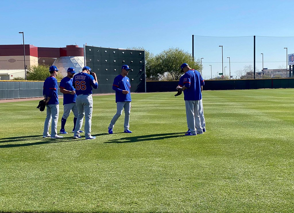 Cubs Photos: Baseball, 2020, chicago, cubs, spring, training