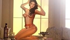 40.Morning Sun ❥ (Zimmimini Brianna) Tags: pumec tableau vivant cynful foxcity peaches diversion fameshed collabor88 c88 belle new mesh meshhead