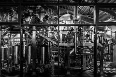 German Brewery in Hamburg (Frank Nitsch) Tags: monochrome germany hamburg brewery
