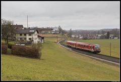 DB 628 283, Traunreut (J. Bakker) Tags: db duitse bahn deutsche br628 628 928 283 rb 27465 traunreut traunstein duitsland 2020