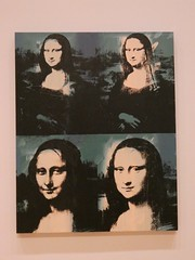 Four Mona Lisa's - Andy Warhol 1978 @ Chicago Art Institute (happily Evan after) Tags: chicago art institute four mona lisas andy warhol 1978 painting