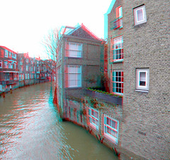 Dordrecht 3D GoPro (wim hoppenbrouwers) Tags: dordrecht 3d gopro anaglyph stereo redcyan