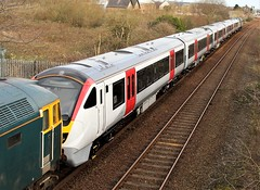Greater Anglia 720519 - Mansfield (the mother '66' 66001) Tags: greateranglia class720 720519 47727 47749 class47 gbrf railservices robinhoodline ukrailways nottinghamshire nottinghamshirerailways mansfield tenterlane 5q11 derby worksop derbylitchurchlane ra rail railways