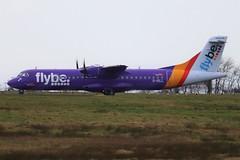 Flybe (Blue Islands) G-ISLL BFS 14/02/20 (ethana23) Tags: planes planespotting aviation avgeek aircraft aeroplane airplane atr atr72 72500 flybe blueislands belfastinternationalairport