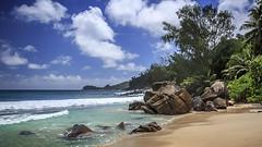 Anse Takamaka, Mahe, Seychelles (Hank888) Tags: hank888 mahe seychelles ocean beach sand sea