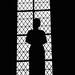 Silhouette de Jeanne, Saint-Sauveur de Redon, Ille-et-Vilaine