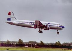DUTCH DAKOTA ASC DC-4 ZS-NUR (Adrian.Kissane) Tags: dutchdakota zsnur 1996 dc4 shannonairport shannon