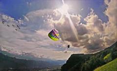 FRANCE - Grenoble region (Jacques Rollet (little available)) Tags: paraglider paragliding france montagne mountain ciel nuage cloud sky