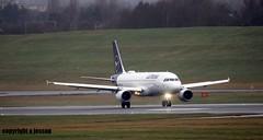 Lufthansa D-AIZD  J78A0118 (M0JRA) Tags: rain flying birmingham wind aircraft jets planes storms landings biz lufthansa daizd