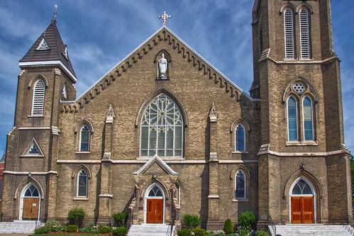 Brantford Ontario - Canada - Saint Basil Roman Catholic Church -  Heritage