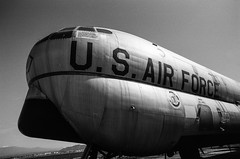 KC97 (LXG_Photos) Tags: bw film monochrome analog airtanker kc97 efm marchfieldairmuseum orthoplus voigtländercolorskopar20mmf35m blackandwhite blancoynegro shotonfilm airplane aircraft ishootfilm