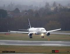 Lufthansa D-AIZD  J78A0116 (M0JRA) Tags: birmingham planes rain flying wind aircraft jets biz storms landings lufthansa daizd