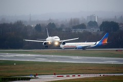 Lufthansa D-AIZD J78A0114 (M0JRA) Tags: rain flying birmingham wind aircraft jets planes biz storms landings lufthansa daizd